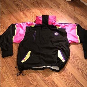 80s Neon Ski Jacket